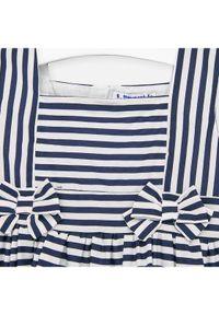 Niebieska sukienka Mayoral casualowa, na co dzień, prosta