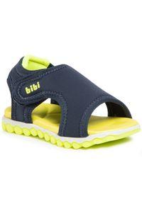 Niebieskie sandały Bibi klasyczne, na lato
