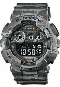 Szary zegarek Casio