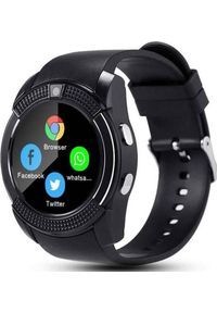 Smartwatch nemo V8 Czarny. Rodzaj zegarka: smartwatch. Kolor: czarny