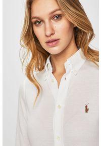 Biała koszula Polo Ralph Lauren klasyczna, długa