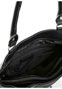 Czarna torebka bonprix na ramię