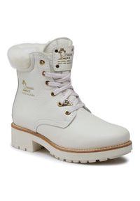 Białe buty trekkingowe Panama Jack