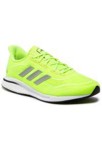 Żółte buty do biegania Adidas
