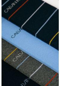 Niebieskie skarpetki Calvin Klein Jeans