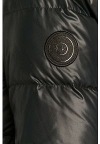 Czarna kurtka Calvin Klein na co dzień, z kapturem #6