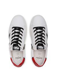 Primigi - Sneakersy PRIMIGI - 7387233 D Bianco. Okazja: na spacer, na co dzień. Kolor: biały. Materiał: skóra. Szerokość cholewki: normalna. Styl: casual