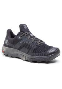 Czarne buty trekkingowe salomon