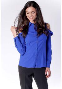 Niebieska koszula Nommo