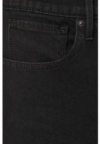 Czarne jeansy Levi's® w kolorowe wzory, na spotkanie biznesowe, biznesowe