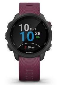 Fioletowy zegarek GARMIN smartwatch
