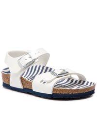 Białe sandały Birkenstock