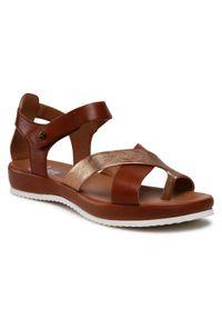 Brązowe sandały Ara