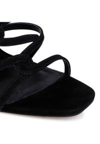 Czarne klapki Eva Longoria