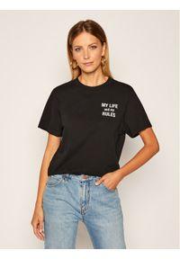 Czarny t-shirt IRO