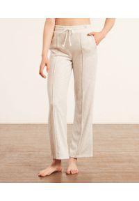 Chrissy Spodnie Od Piżamy - M - Jasnoszary - Etam. Kolor: szary