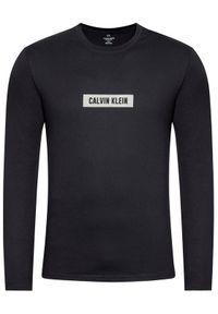 Czarna koszulka z długim rękawem Calvin Klein Performance z długim rękawem