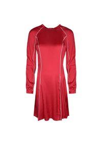 """Pinko Sukienka """"Deliberare"""". Okazja: na co dzień. Materiał: tkanina, satyna. Typ sukienki: proste. Styl: casual"""