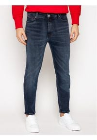 Tommy Jeans Jeansy Skinny Fit Simon DM0DM09285 Granatowy Skinny Fit. Kolor: niebieski