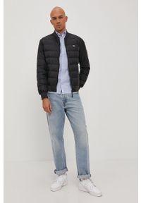 Tommy Jeans - Kurtka puchowa. Okazja: na co dzień. Kolor: czarny. Materiał: puch. Wzór: gładki. Styl: casual