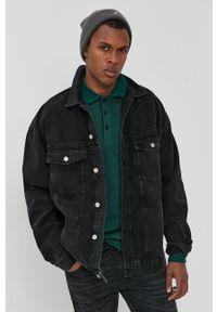 Dr. Denim - Kurtka jeansowa. Kolor: czarny. Materiał: jeans, denim