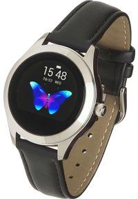 Czarny zegarek Garett Electronics smartwatch