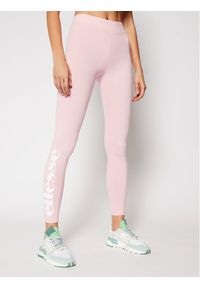 Różowe legginsy sportowe Ellesse