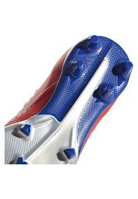 Adidas - Buty adidas X 18.1 FG Jr BB9353. Materiał: mesh. Szerokość cholewki: normalna. Sport: piłka nożna