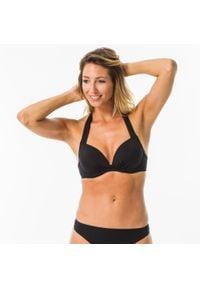 OLAIAN - Góra kostiumu kąpielowego ELENA damska. Kolor: czarny. Materiał: elastan, poliester, materiał, tkanina, poliamid