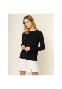 Czarny sweter Escada Sport sportowy