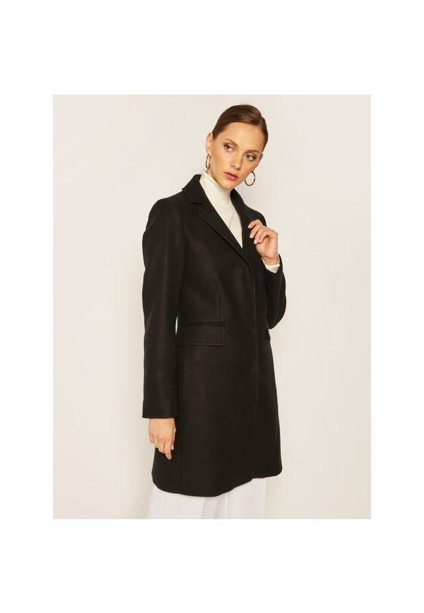 Czarny płaszcz Liu Jo