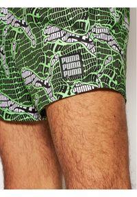 Puma Szorty kąpielowe 935063 Zielony Regular Fit. Kolor: zielony