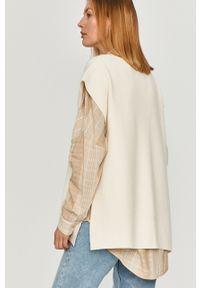 Kremowy sweter Answear Lab wakacyjny
