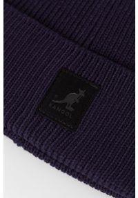 Kangol - Czapka. Kolor: niebieski