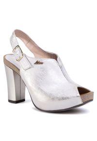 Białe sandały Libero casualowe, na co dzień