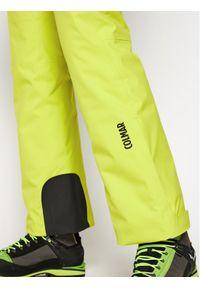 Żółte spodnie sportowe Colmar narciarskie