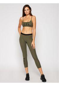 Zielony biustonosz Dsquared2 Underwear