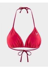 Różowy strój kąpielowy outhorn melanż