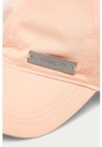 Różowa czapka z daszkiem Reebok z aplikacjami #4