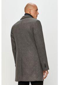 Szary płaszcz Tom Tailor Denim casualowy, na co dzień