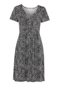 Sukienka Cellbes na co dzień, z krótkim rękawem, z dekoltem w serek