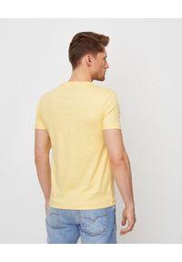 Żółty t-shirt Ralph Lauren casualowy, na co dzień