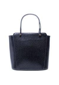 Monnari - Torebka MONNARI - BAG1680-020 Czarny. Kolor: czarny. Materiał: skórzane
