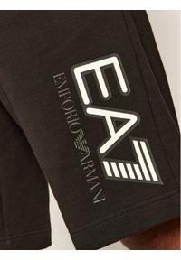 Czarne spodenki sportowe EA7 Emporio Armani #5