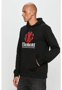 Element - Bluza. Kolor: czarny. Wzór: nadruk