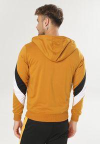 Żółta bluza rozpinana Born2be