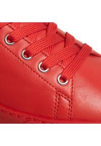 Czerwone półbuty HÖGL z cholewką, na płaskiej podeszwie #6