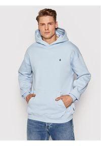Volcom Bluza Erith A4112110 Niebieski Regular Fit. Kolor: niebieski