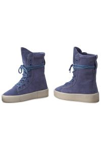 Niebieskie botki Bronx