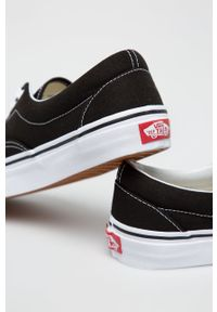 Vans - Tenisówki Era. Nosek buta: okrągły. Zapięcie: sznurówki. Kolor: czarny. Materiał: guma
